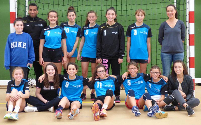 Équipe 1 -15 ans filles - Ergué Quimper Handball