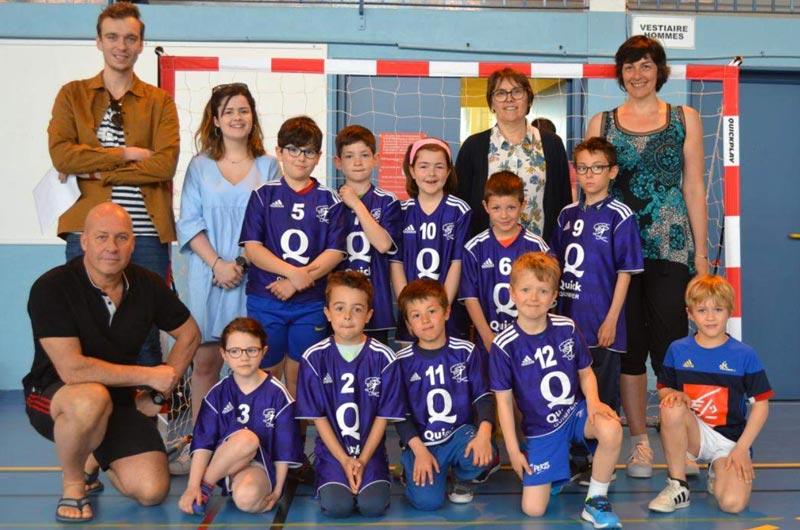 Ecole de hand Plogonnec - Ergué Quimper Handball
