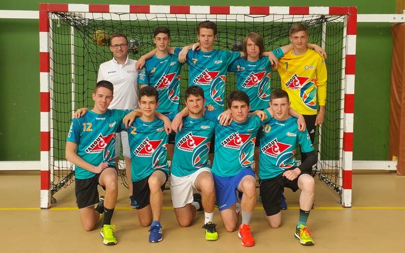 Équipe 1 -18 ans gars - Ergué Quimper Handball