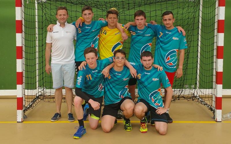 Équipe 2 -18 ans gars - Ergué Quimper Handball