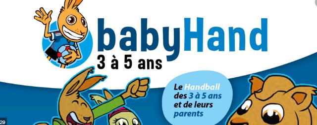 Reprise Baby hand et Ecole de hand!!!